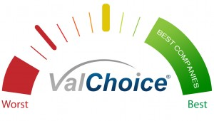 Best Insurance companies range for which ValChoice will help agents by placing insurance ads.