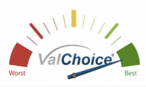 Example of the protection grade in a ValChoice report